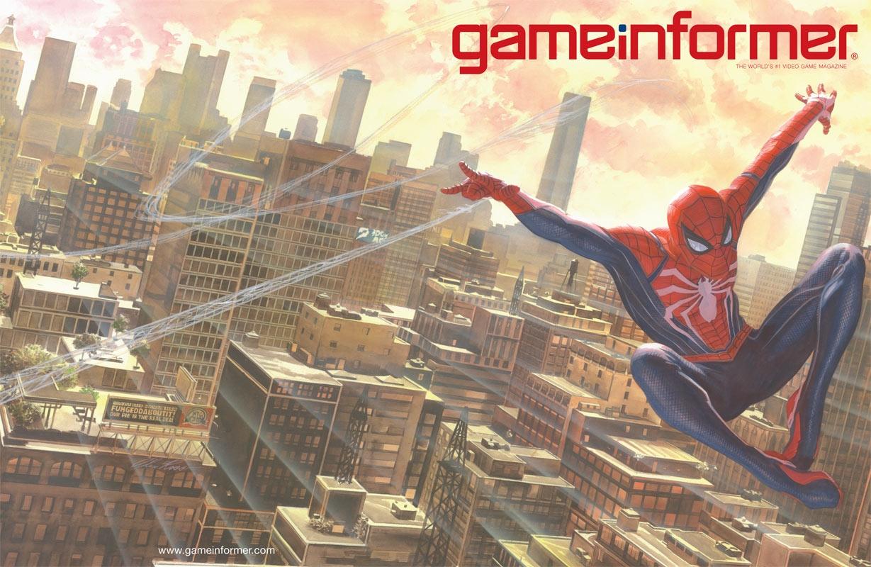 Вновом геймплее игры Spider-Man показали опытного Человека-паука