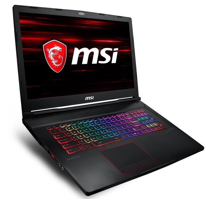 Ноутбуки MSI GE63 и GE73 Raider RGB