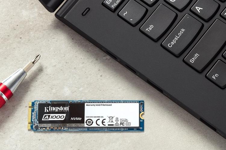 king1 - Kingston A1000: твердотельные накопители М.2 NVMe PCIe базового уровня