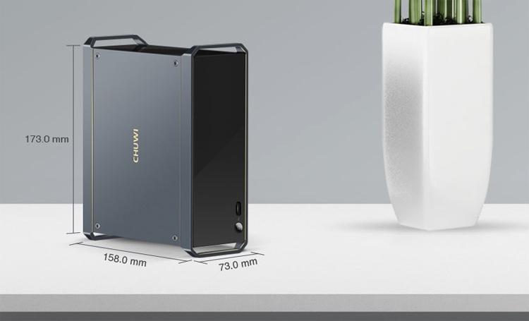 Chuwi HiGame: проект мини-компьютера наплатформе Intel Kaby Lake-G