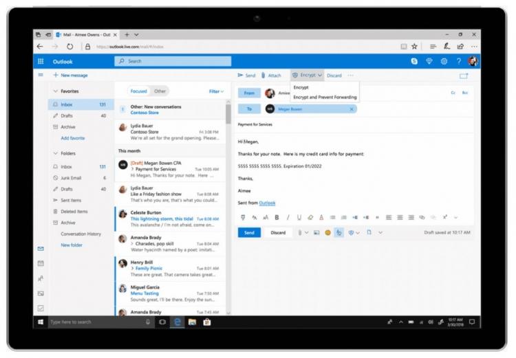 """В облачном хранилище OneDrive появилась защита от вирусов-вымогателей"""""""