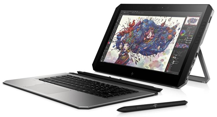 """Гибридный планшет для дизайнеров HP ZBook x2 G4 получил процессор Kaby Lake R"""""""