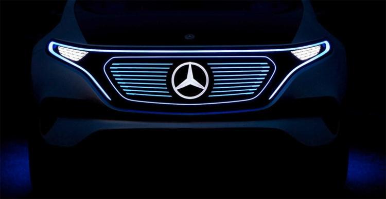 """Премиальный электрический седан Mercedes-Benz дебютирует в 2020 году"""""""