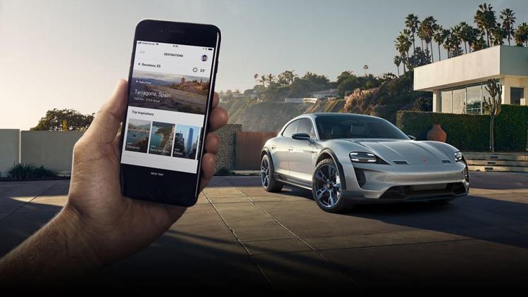 "Видео дня: электрический концепт-кар Porsche Mission E Cross Turismo"""