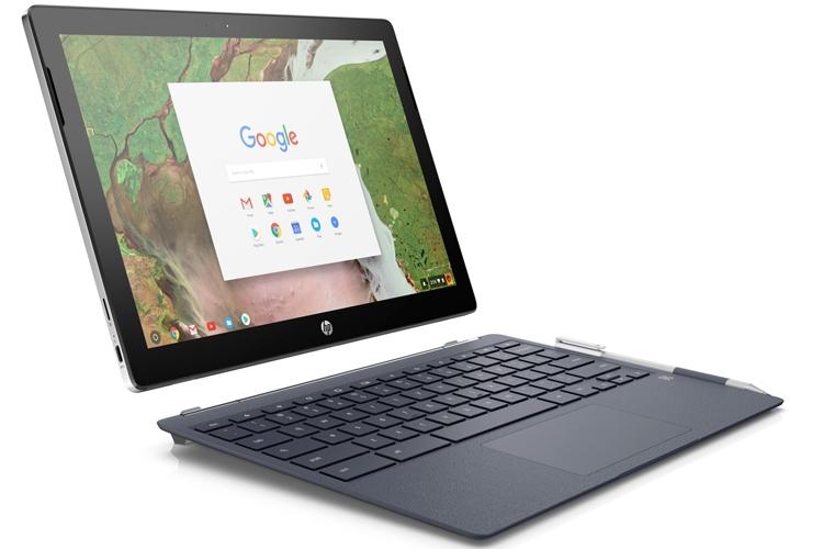 HP Chromebook x2: планшет с подсоединяемой клавиатурой