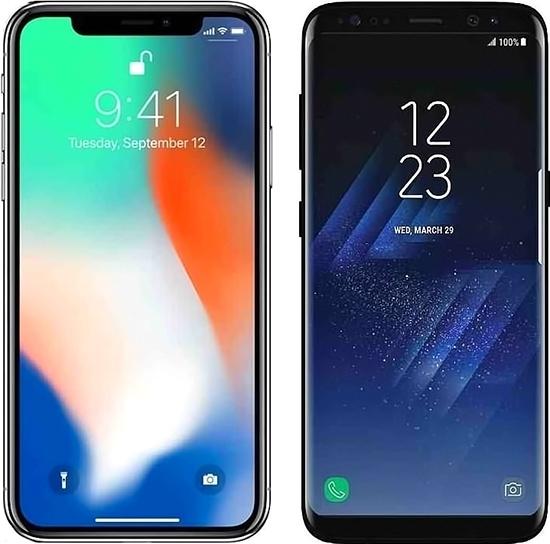 iphone samsung - Россияне стали покупать более дорогие смартфоны