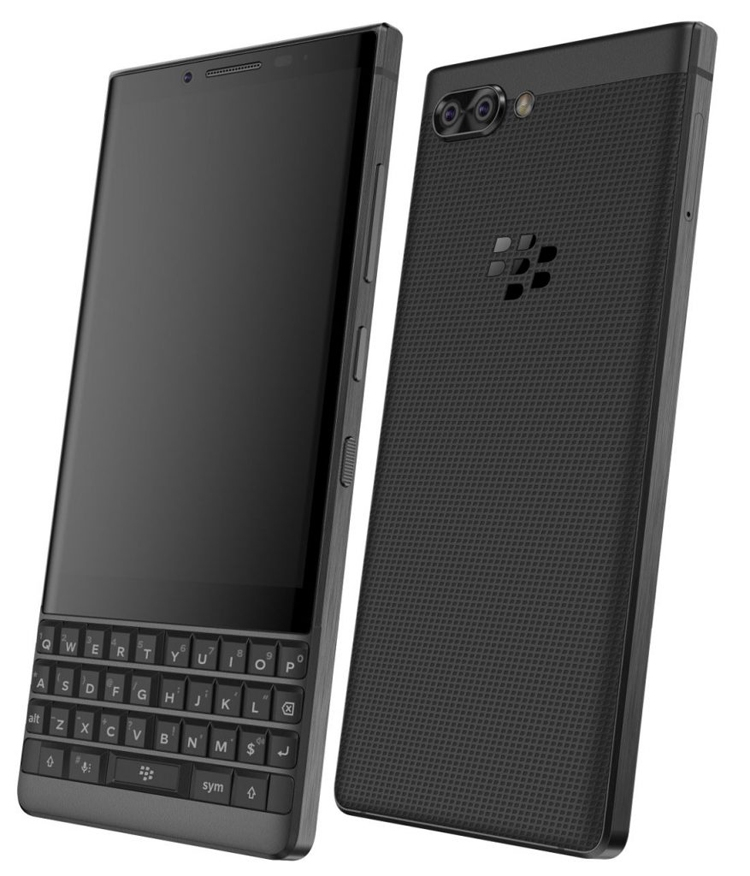 "Смартфон BlackBerry Athena с QWERTY-клавиатурой предстал на рендерах"""