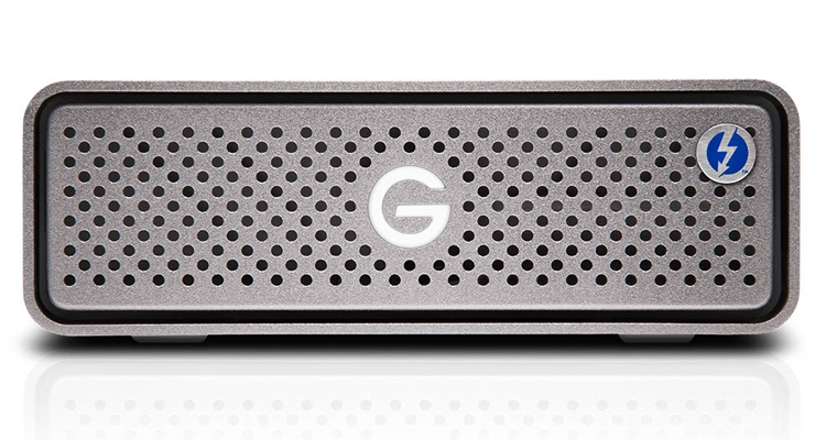 gt1 - Внешний накопитель G-DRIVE Pro SSD снабжён двумя портами Thunderbolt 3