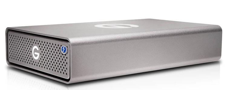 gt2 - Внешний накопитель G-DRIVE Pro SSD снабжён двумя портами Thunderbolt 3