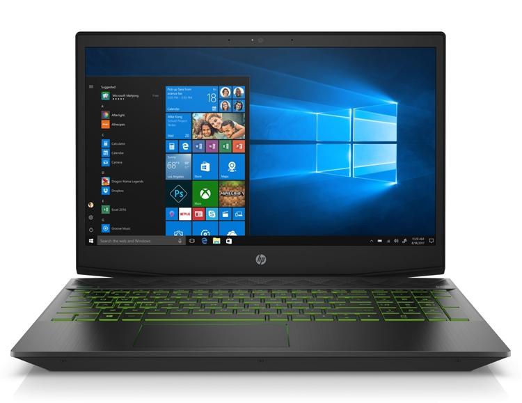 hp1 - Ноутбук HP Pavilion Gaming оборудован 15,6-дюймовым дисплеем
