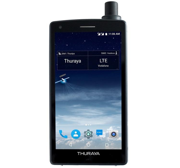 Представлен 1-ый вмире спутниковый смартфон на андроид