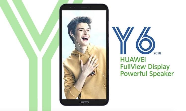 Бюджетный смартфон Huawei Y6 умеет распознавать лица истоит $200