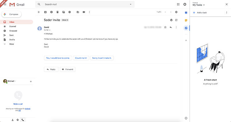 """Вот так скоро будет выглядеть Gmail в браузере"""""""