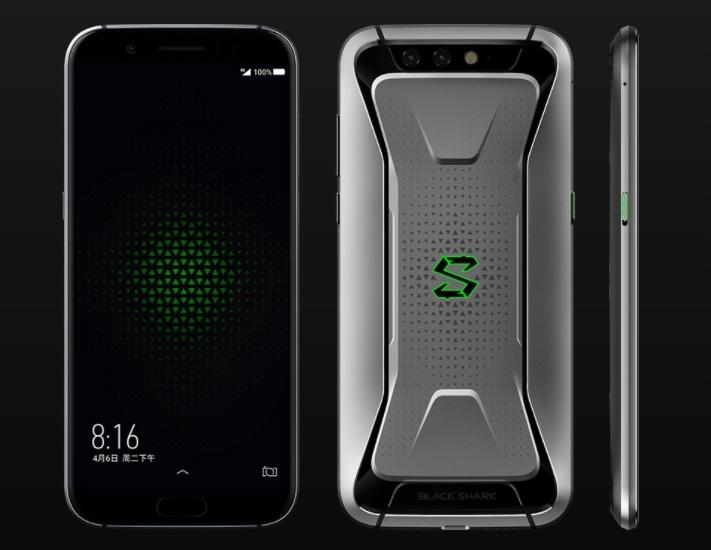 В сеть «слили» живые фото геймерского смартфона Xiaomi Black Shark