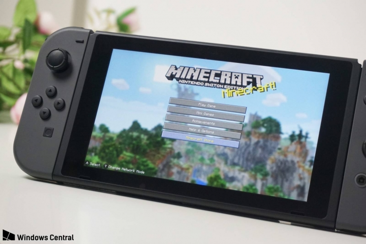 В Minecraft для Nintendo Switch появятся достижения Xbox Live