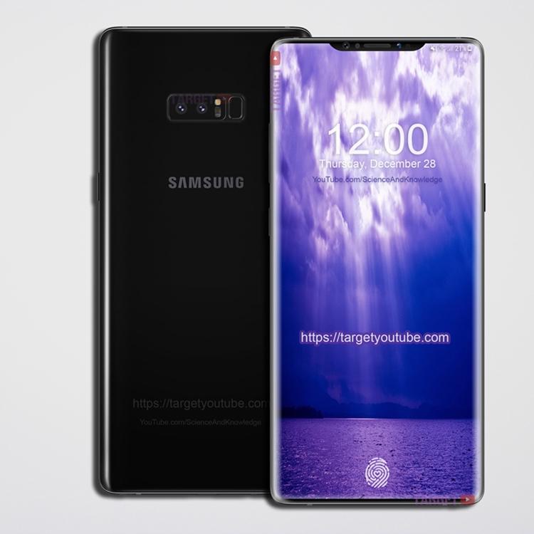 Копия iPhone X: Самсунг  выпустит смартфон с«монобровью»