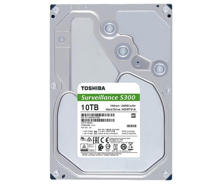 """Toshiba представила жёсткие диски серий V300 и S300"""""""