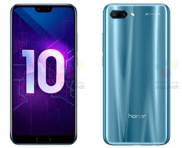 "Мощный смартфон Huawei Honor 10 показал лицо"""