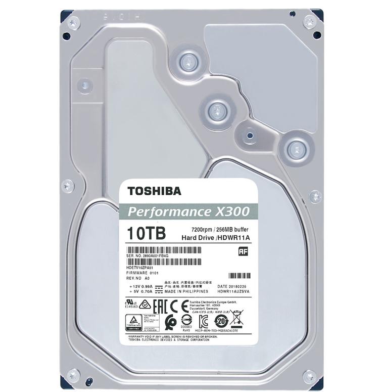 """Toshiba P300, L200 и X300: жёсткие диски для ноутбуков и настольных систем"""""""