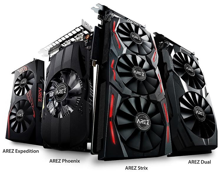 ASUS представила бренд AREZ для видеокарт Radeon