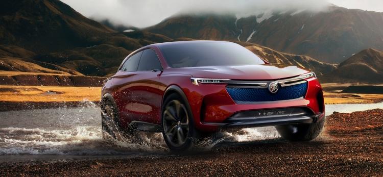В Китае продемонстрирован концепт электрокара Buick Enspire с запасом хода 595 км