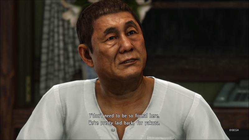 Такеши Китано собственной персоной
