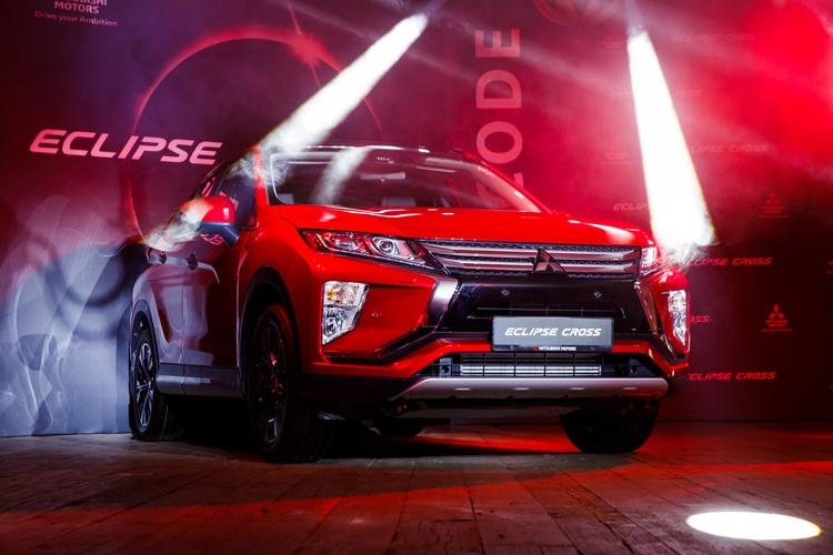 """Кроссовер Mitsubishi Eclipse Cross дебютировал в России"""""""