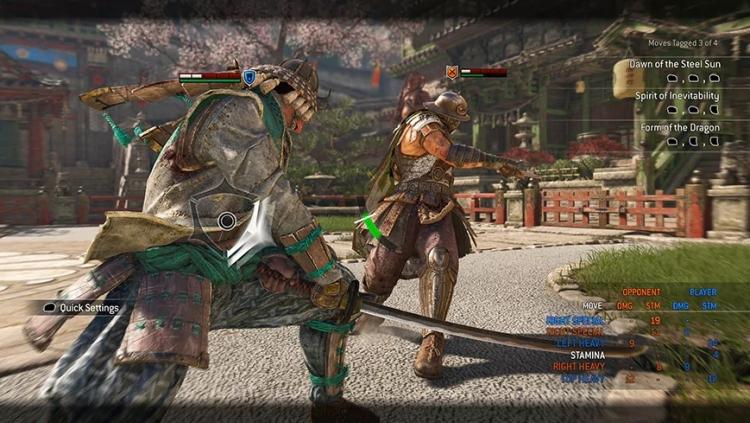 В файтинг For Honor добавили четыре тренировочных режима