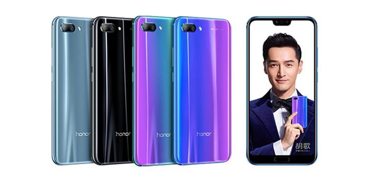 Представлен смартфон Huawei Honor 10 с двойной камерой и чипом Kirin 970