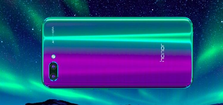 "Представлен смартфон Huawei Honor 10 с двойной камерой и чипом Kirin 970"""
