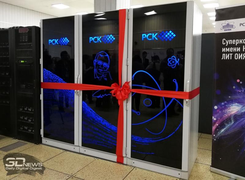 Суперкомпьютер в ОИЯИ
