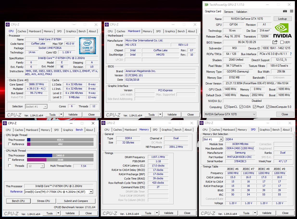 Обзор MSI GE73 Raider RGB 8RF: нужны ли игровым ноутбукам 6