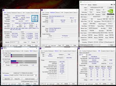 Характеристики MSI GE73 VR Raider RGB 7RF