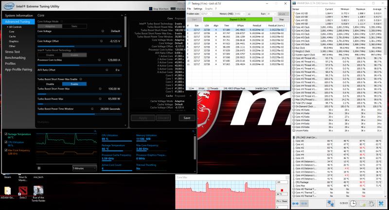 Снижение напряжения CPU + Cooler Boost 5