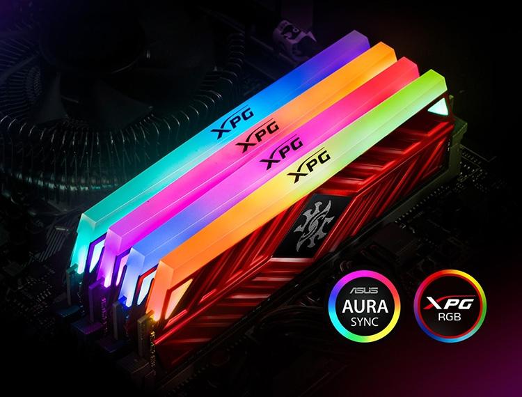 433 2 - Счёт новых комплектов памяти ADATA XPG Spectrix D41 DDR4 идёт на десятки