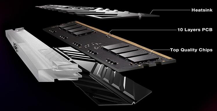 433 3 - Счёт новых комплектов памяти ADATA XPG Spectrix D41 DDR4 идёт на десятки