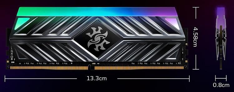 433 4 - Счёт новых комплектов памяти ADATA XPG Spectrix D41 DDR4 идёт на десятки