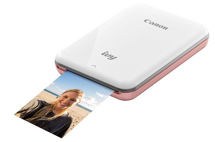 "Canon IVY Mini Photo Printer поможет распечатать снимки со смартфона"""