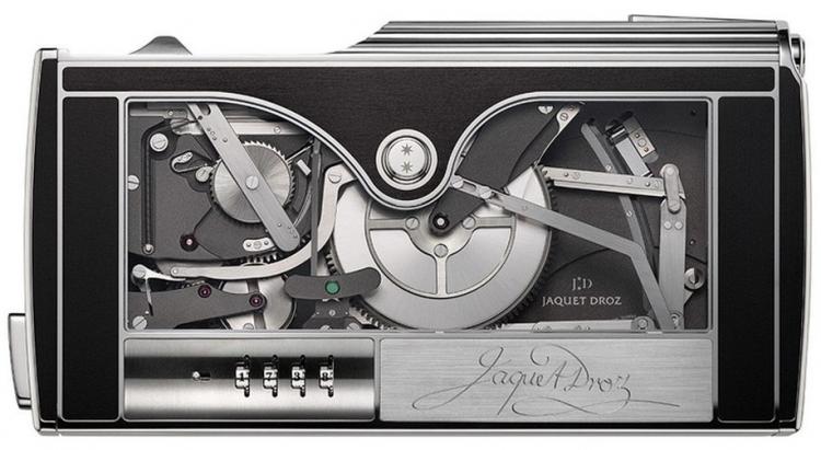 """Jaquet Droz представила карманную машинку для подписи стоимостью $368 тыс."""""""