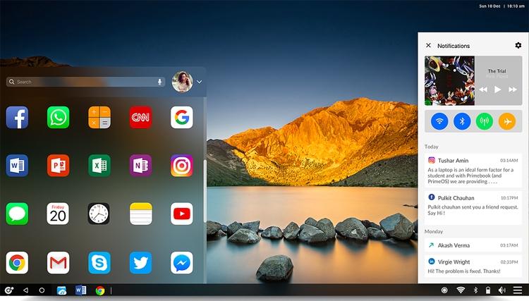"Ноутбук Primebook использует процессор Rockchip и ОС на базе Android"""