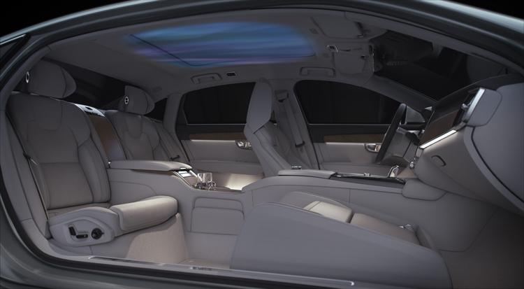 """Volvo S90 Ambience Concept: атмосфера роскоши нового уровня в автомобиле"""""""