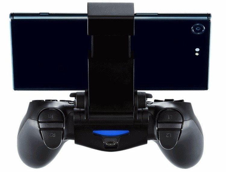 """Sony X Mount: фирменный аксессуар для установки смартфонов Xperia на геймпад от PS4"""""""