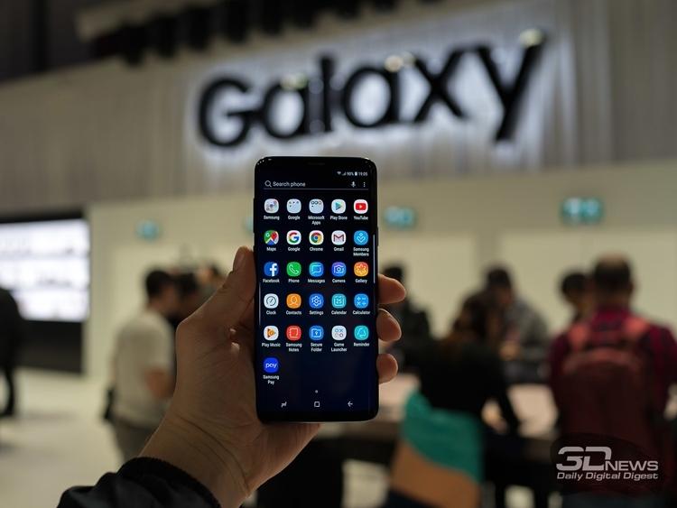 """Смартфоны Galaxy S9 уступили по объёму продаж в первый месяц аппаратам S7"""""""