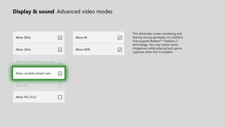 Крупное обновление Xbox One: 1440p, ALLM, Freesync, загрузка скриншотов и клипов в Twitter напрямую и другое