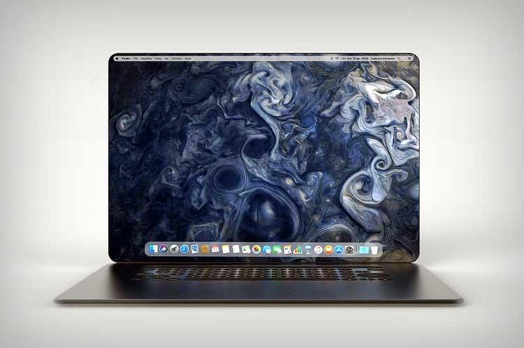 Людовико Кампана предложил новый дизайн MacBook в духе iPhone X