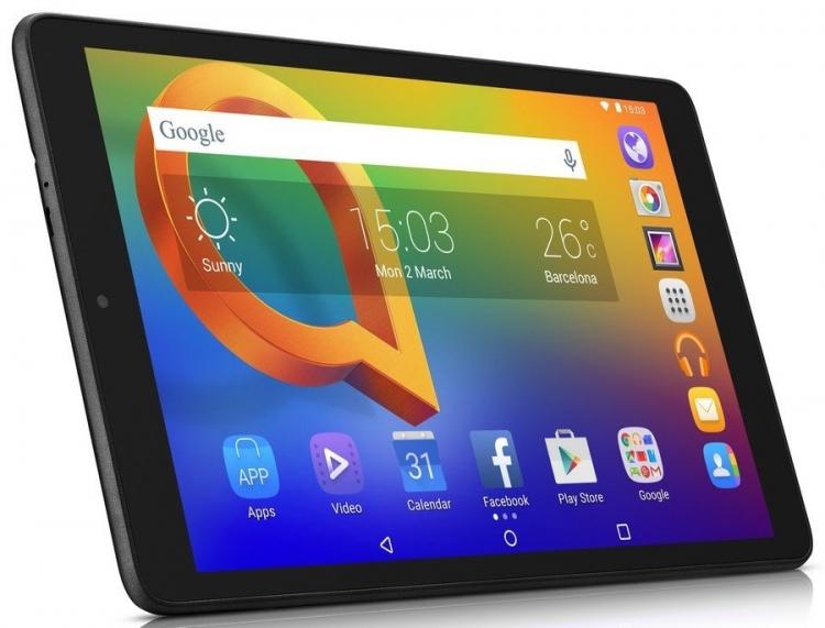 "Alcatel представила на смену бюджетному планшету A3 модель A3 (2018) с поддержкой LTE"""