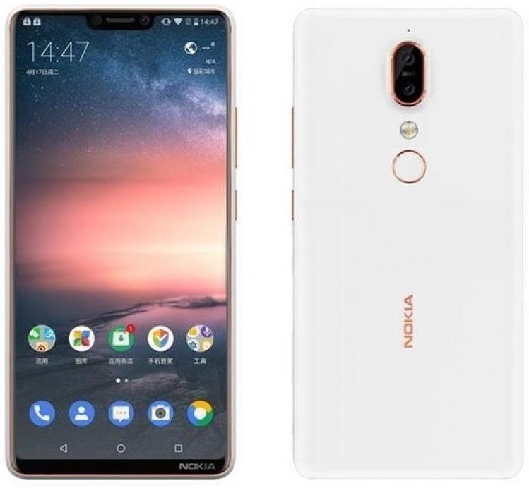 """Nokia X6 может стать первым смартфоном HMD Global с вырезом на дисплее"""""""