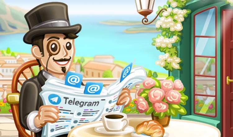 Иллюстрации Telegram