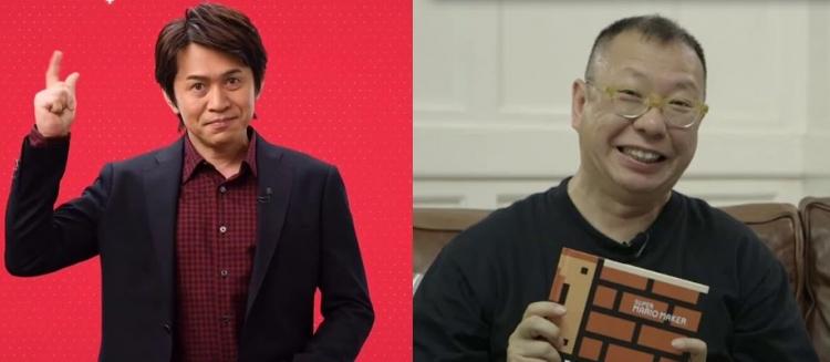 Слева направо: Ёсиаки Коизуми и Такаси Тезука