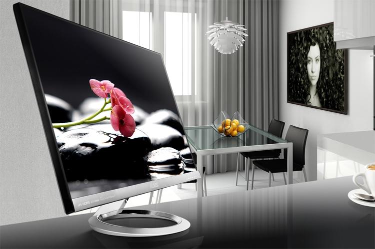 """ASUS Designo MX279HE: 27-дюймовый монитор с узкими рамками"""""""